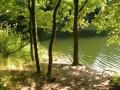 Zruč a blízká Přehrada Vodní nádrž Želívka