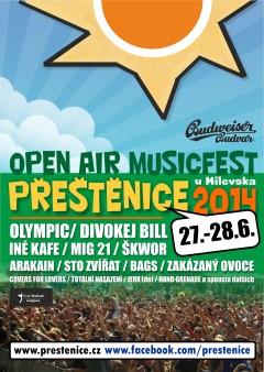 Soutěž o vstupenky na Open Air Musicfest Přeštěnice 2014